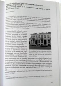 Artikel over Miep Diekamnn in Tijdschrift Vereniging Oud-Dordrecht