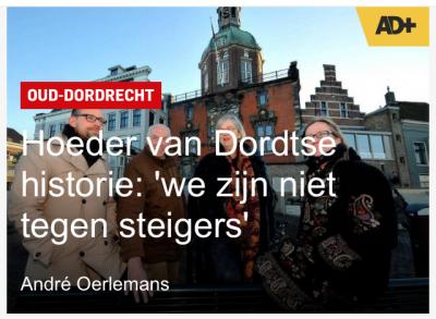 Vereniging Oud-Dordrecht in AD de Dordtenaar