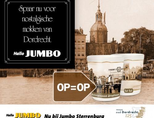 JUMBO Sterrenburg schenkt samen met haar klanten aan jubilerende Vereniging Oud-Dordrecht