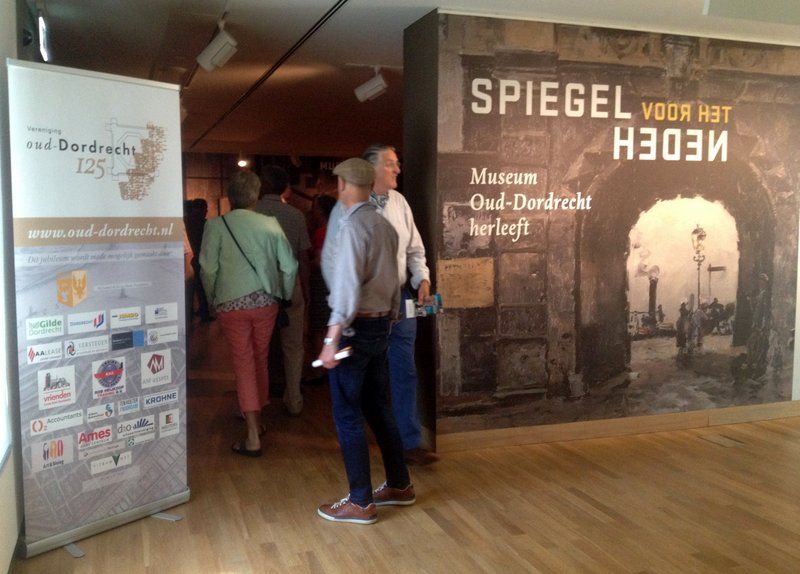 Tentoonstelling 'Spiegel voor het heden' Dordrechts Museum