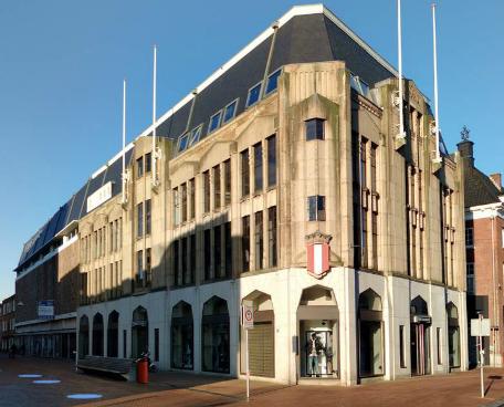 Bagijnhof 7 Dordrecht, kanshebber van de Dordtse Puienprijs 2017