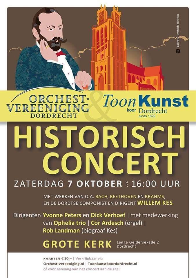 Historisch Concert Willem Kes