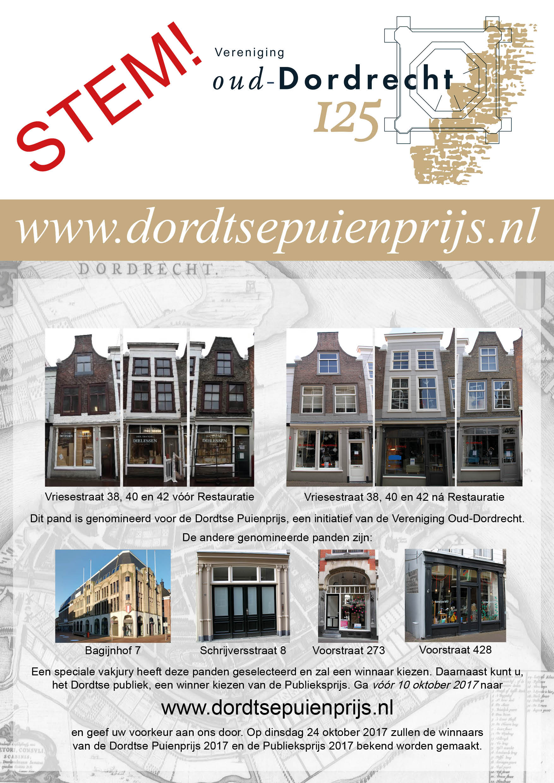 Poster Dordtse Puienprijs 2017