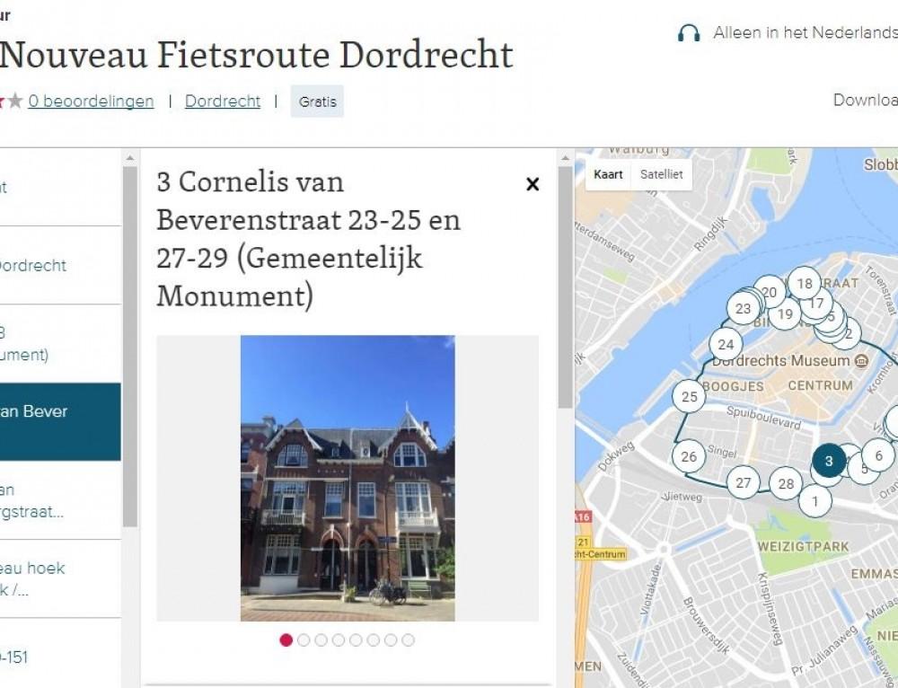 Art Nouveau Fietsroute Dordrecht