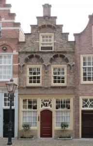 Dordtse gevel Hofstraat 10 Dordrecht
