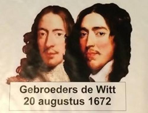 Herdenking gebroeders De Witt in Dordrecht