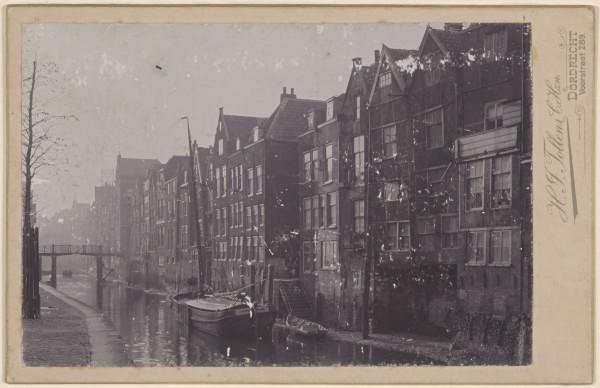 Voorstraat 441-451 ansichtkaart 1890-1899