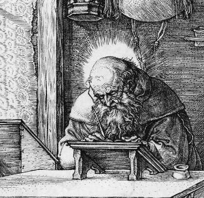 St. Jerome by Albrecht Dürer