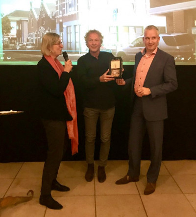 Winnaar Dordtse Puienprijs 2019 categorie woon-winkelpand